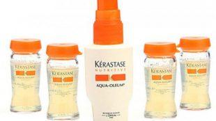 kerastase aqua oleum ürünleri, kerastase saç bakım ürünü, kerastase marka saç nakım ürünleri