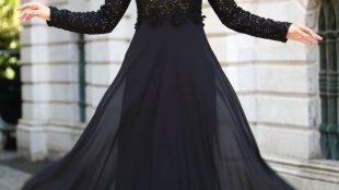 abiye elbise, güpürlü abiye elbise, tesettür abiye
